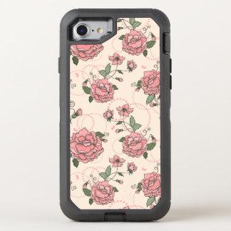 Blumenmuster 5 2 OtterBox defender iPhone 8/7 hülle