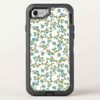 Blumenmuster 9 OtterBox defender iPhone 8/7 hülle