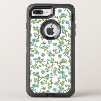 Blumenmuster 9 OtterBox defender iPhone 8 plus/7 plus hülle