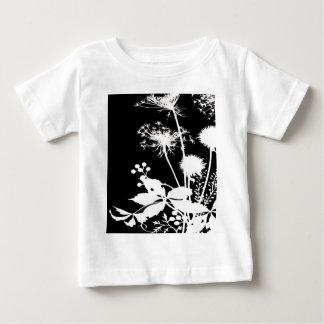 Blumenmuster Baby T-shirt