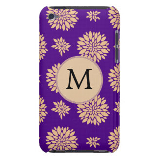Blumenmuster des personalisierten barely there iPod case