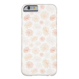 Blumenmuster-saftige Pflanzen-botanischer Druck Barely There iPhone 6 Hülle