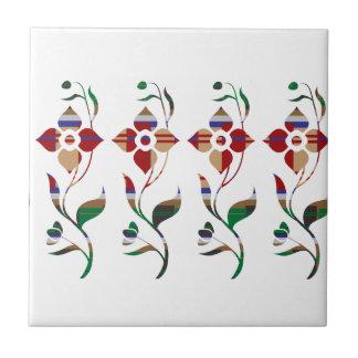 BLUMENmuster: Strampler-Blumen Keramikfliese