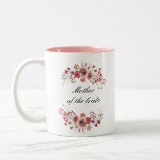 Blumenmutter der Braut-Tasse Zweifarbige Tasse