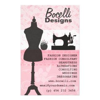 Blumennäherin-Mode-Kleiderform-Mannequin Flyer