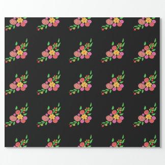 BlumenPackpapier der süßen Posies Geschenkpapier