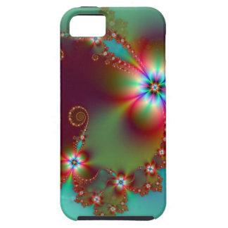 Blumenphantasie-Fraktal iPhone 5 Hülle