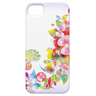 Blumenphantasie iphone Abdeckung iPhone 5 Schutzhüllen