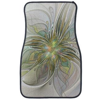 Blumenphantasie-moderne Fraktal-Kunst-Blume mit Automatte