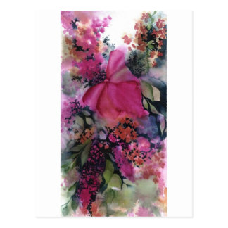 Blumenpostkarte Postkarten