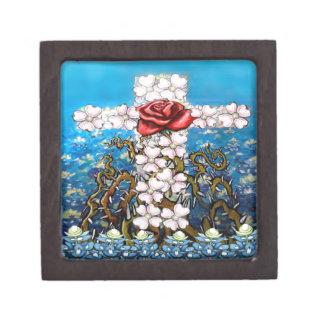 BlumenquerRose Schachtel
