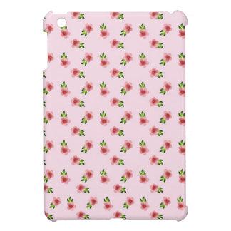 Blumenrosa iPad Mini Hülle