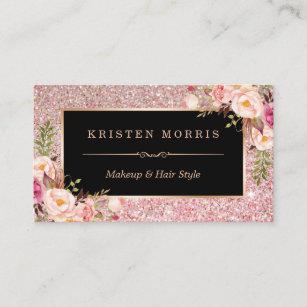 Rosa Papier Visitenkarten Zazzle De