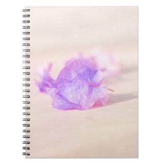 Blumensammlung Notizblock