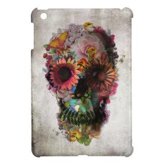 Blumenschädel Hülle Fürs iPad Mini