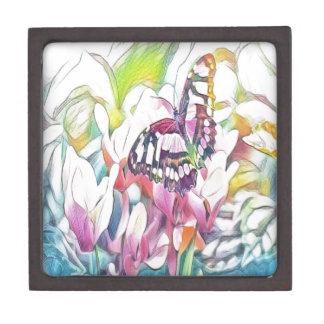 Blumenschmetterling Kiste