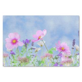 Blumenschönheit Seidenpapier
