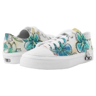Blumenschuh entworfen durch Celestine Niedrig-geschnittene Sneaker