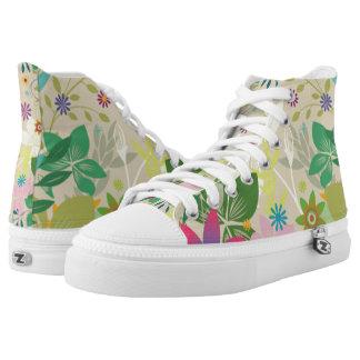 Blumenschuhe Hoch-geschnittene Sneaker