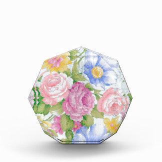 Blumenstrauß Acryl Auszeichnung