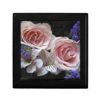 Blumenstrauß-Andenken-Kasten Schmuckschachtel