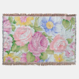 Blumenstrauß Decke