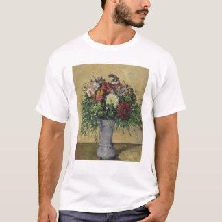 Blumenstrauß der Blumen in einem Vase, c.1877 T-Shirt
