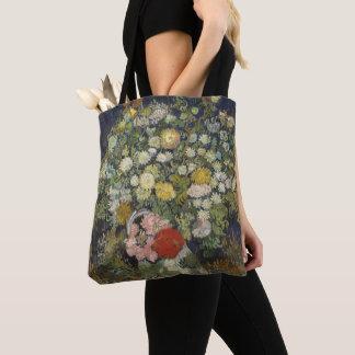 Blumenstrauß der Blumen in einem Vase Tasche
