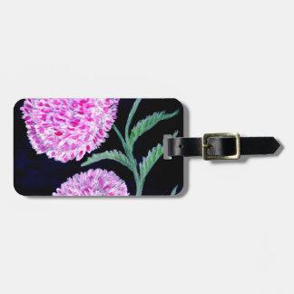 Blumenstrauß der Blumen-Kunst Gepäckanhänger