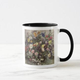 Blumenstrauß der Blumen Tasse
