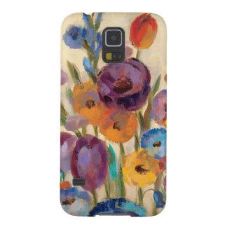 Blumenstrauß der bunten Blumen Samsung S5 Hüllen