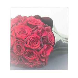 Blumenstrauß der Liebe Notizblock