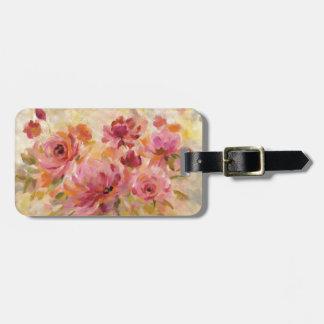 Blumenstrauß der Rosen Gepäckanhänger