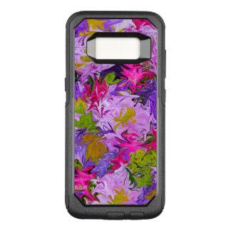 Blumenstrauß Farbdes abstrakten Kunst-mit OtterBox Commuter Samsung Galaxy S8 Hülle