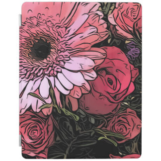 Blumenstrauß iPad Abdeckung iPad Hülle