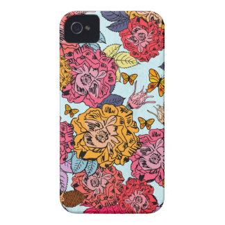 Blumenstrauß iPhone 4 Cover