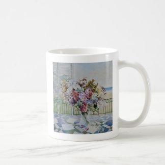 Blumenstrauß Kaffeetasse