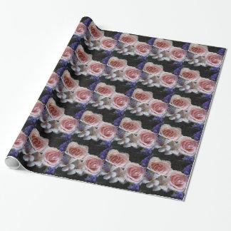 Blumenstrauß-Packpapier Geschenkpapier