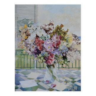 Blumenstrauß Postkarte
