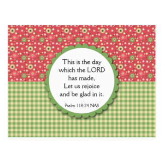Blumenstrauß-Vielzahl-Postkarten-Bibel-Vers Postkarte