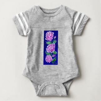 Blumenstrauß von Rosen WC Baby Strampler