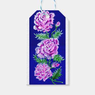 Blumenstrauß von Rosen WC Geschenkanhänger