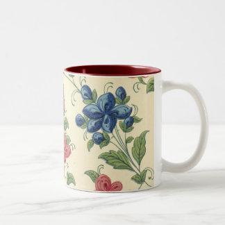 BlumenTasse Zweifarbige Tasse