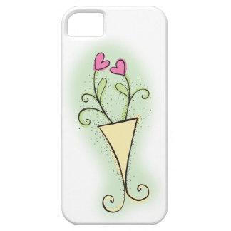 Blumentopf hübsch mit Liebeherzen Hülle Fürs iPhone 5
