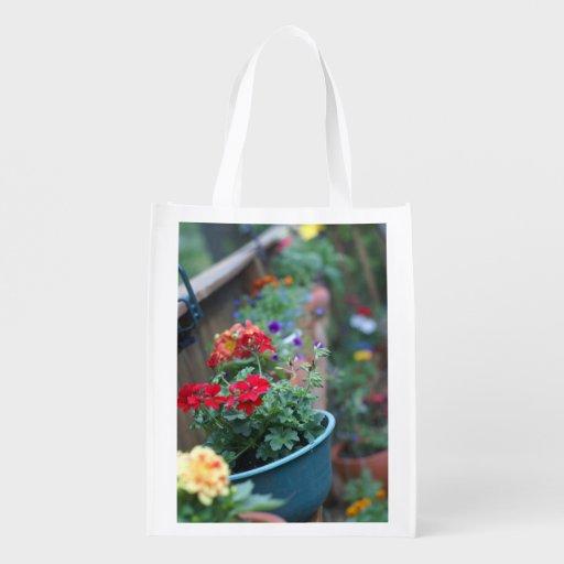Blumentopf-Speichertasche Einkaufsbeutel