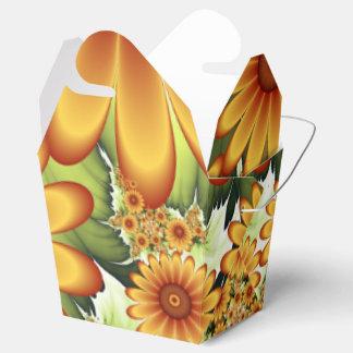 Blumentraum, moderne abstrakte geschenkschachtel