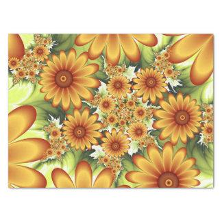 Blumentraum, moderne abstrakte seidenpapier