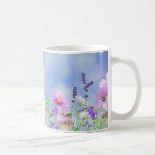Blumenwiese Kaffeetasse