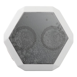 Blumenzusammenfassung Weiße Bluetooth Lautsprecher