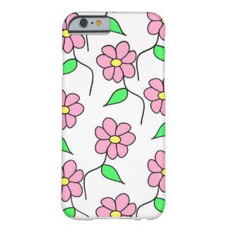 Blumige iPhone Abdeckung für Mädchen Barely There iPhone 6 Hülle